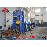 Buy cheap Customized Waste Car Metal Shear Baler For Waste Car Recycling Yards 5000mm Length Press Chamber product