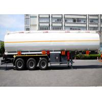 Buy cheap Liquefied Gas Tanker Truck Semi Trailer Capacity 36000L 3 Axles High Effective product