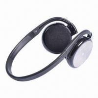 China Crystal Clear Sport Bluetooth Stereo Headsets with 10m Transmission Range on sale