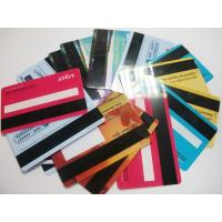 Buy cheap Factory Price PVC Blank Magnetic Stripe Smart card Credit Card Size product
