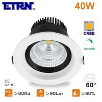 led 6 inch 40w dimmable led downlights ceiling lights recessed lights