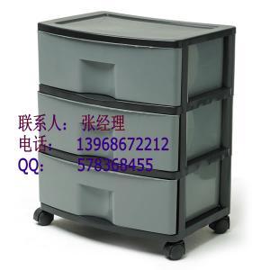 China Plastic PP Drawer Injection Shelf Mould Maker on sale