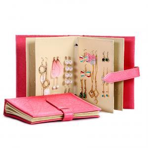 Buy cheap Earrings Holder Book Fancy Jewelry Box Foldable For Earrings Storage product