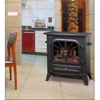 Buy cheap ND-20C Wooden Freestanding Electric Fireplace Flame Heater chimenea electrica log Stoves product