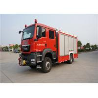 Buy cheap 4x2 Drive Type Fire And Rescue Vehicles , Approach Angle 19° Motorized Fire Truck product