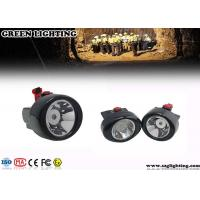 Buy cheap IP68 13000 Lux Led Mining Lamp , Explosion Proof Coal Miners Headlamp product
