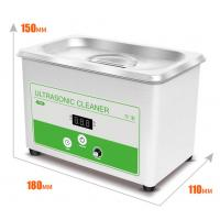 Buy cheap Small Benchtop Ultrasonic Cleaner 0.8L Ultrasonic Bath Cleaner For Lab  Digital Display Of Set And Actuall Timer product