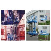 Buy cheap Two Person Four Mast Aluminum Work Platform With 10m Working Height product