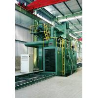 Buy cheap Steel Plate Shot Blasting Machine H Beam Clean and Intensify product