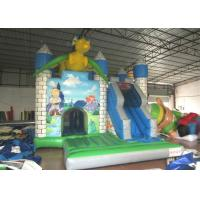 Buy cheap Dragon Design Inflatable Jump House Commercial Grade Digital Printing Fireproof product