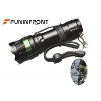 China 1000LMs CREE XM-L T6 Zoom LED Flashlight with Clip for Outdoor Night Ride, Walk on sale