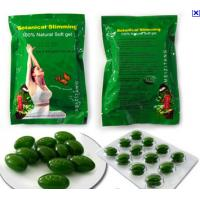 China Weight Loss Natural Slimming Capsule , Women Green Meizitang Soft Gel on sale