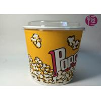 Buy cheap 85oz Double PE Coated Neutral Ripple Paper Cups With Plastic Lid product
