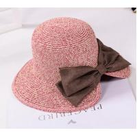 Buy cheap UV Protection Washable Beach Straw Hat One Removable Flower Pin Decoration For Summer product