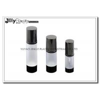 China Professional White Head Cap Empty Cosmetic Bottles Material ABS wholesale