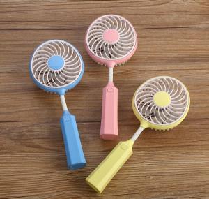 Buy cheap Portable USB Badminton Racket Fan Handheld Mini Badminton Racket Fan product