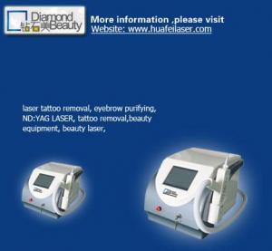 Buy cheap ND de Q-commutateur : équipement de beauté de retrait de tatouage de laser de yag (HF-302) product