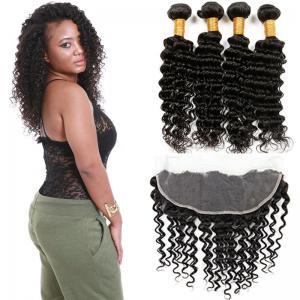 Healthy 100 Unprocessed Virgin Brazilian Hair Deep Wave Customized Color