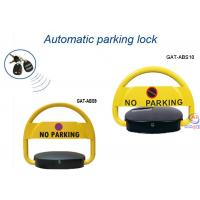 China Auto Remote Control Car Parking Locks , Solar Parking Lot Position Automatic Parking Lock on sale
