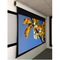 """Buy cheap 92"""" projection screen , tab tensioned motorized projection screen aluminum housing product"""