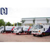China EuroIII 4x2 HOWO brand Light Hork Arm Garbage Truck Collection 5M3 Q235 Material 190HP on sale