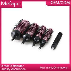 Buy cheap Cepillo de pelo iónico de cerámica desmontable del cepillo de nylon plástico redondo product