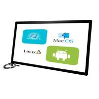 Buy cheap Customized Size 58 Inch Infrared Touch Frame Withstands Severe Environments product