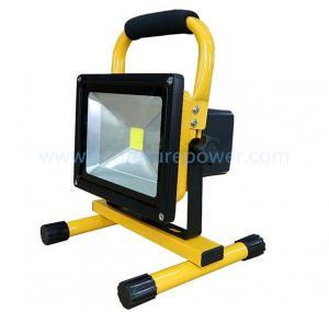 Buy cheap 車および家の充電器が付いている再充電可能なLED 10Wのフラッドライト product
