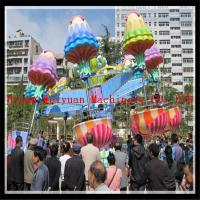 Buy cheap Outdoor playground amusement rides rotating and lifting jellyfish rides from factory product