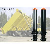 Buy cheap 3 4 5 Stage Hydraulic Cylinder , Single Acting Telescopic Cylinder Lifting Dumper Tipper Trailer product
