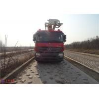 Buy cheap Water Capacity 4800kg Water Tower Fire Truck Max Loading 23700Kg With With Fully Hydraulic Drive product