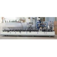 Buy cheap PUR hot melt glue profile wrapping machine for frame and door casing from wholesalers