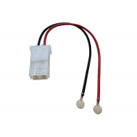 Buy cheap Molex 8981-2P 5.08mm Connectors Crimped with 5.5mm Round Weld Tab Wire Harness product