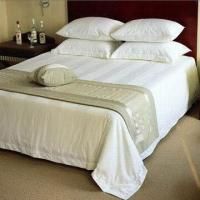 China Hotel Bed Linens with Strip Pattern, 200TC to 800TC Fabric/Customized Fabrics and Sizes are Accepted on sale