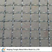 Buy cheap Intermediate Crimped Wire Mesh|SS304 Intercrimp Woven Mesh For Construction product