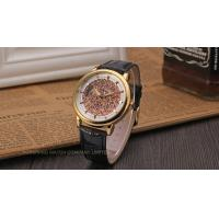 Quality Winner Fashion Mens Wrist Watches Leather Strap Mechanical Aad Stainless Steel for sale