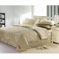 China Good-quality 100% Cotton Comforter Bedding Set, Various Colors and Patterns are Available on sale
