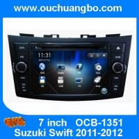 ouchuangbo gps radio stereo dvd for suzuki swift 2011 2012. Black Bedroom Furniture Sets. Home Design Ideas