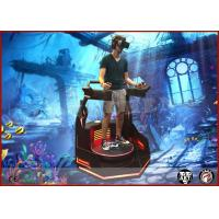 Buy cheap Commercial VR Theme Park Virtual Reality Stand Up Platform With Immersive 9d Games from wholesalers