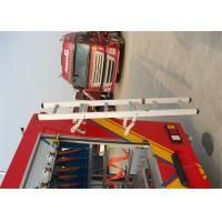 Buy cheap Special Vehicles / Fire Truck Rear Ladder Alumina Alloy Width 320mm* Height 1600mm from wholesalers