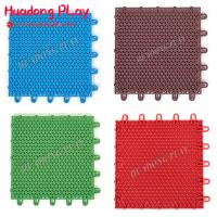 Buy cheap Multifunctional Rubber Playground Tiles Pp Material Long Lifetime  Scentless product