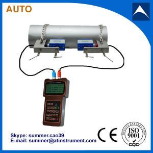 abrazadera del bajo costo en el tipo fabricante ultrasónico del metro de flujo del PDA