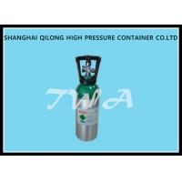 Buy cheap 8L Aluminum Oxygen Hydraulic Gas Cylinder / High Pressure Gas Bottles product