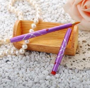 Portable Retractable Lipstick BrushPurple Handle Purple Handle Color
