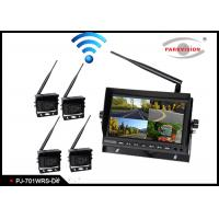 Buy cheap 2.4G Wireless Transmitting Bus Rear View Camera , Wireless Remote Backup Camera product