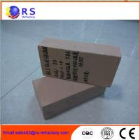 China Light Weight Refractory Clay Bricks , Insulating Fire Brick For Industrial Kiln on sale