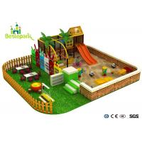 Buy cheap Sand Land Indoor Soft Playground Equipment For Children 3 - 14 Years Old product