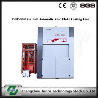 Buy cheap Zinc Flake Dip Spin Coating Machine 75° Tilting Angle DST-S800++ Full Automatic centrifugal speed top coat product