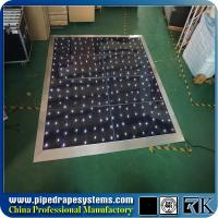 China buy LED light dance floor , wedding dance floor on sale