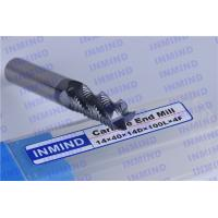 Buy cheap 0.7um Grain Size Milling Tool Bits / Solid Carbide Tools For End Mill Machine product